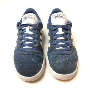 Adidas Retro Tennis Shoe Navy PGD Size 4 Youth